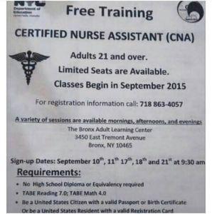 certificate Nurse Assistant